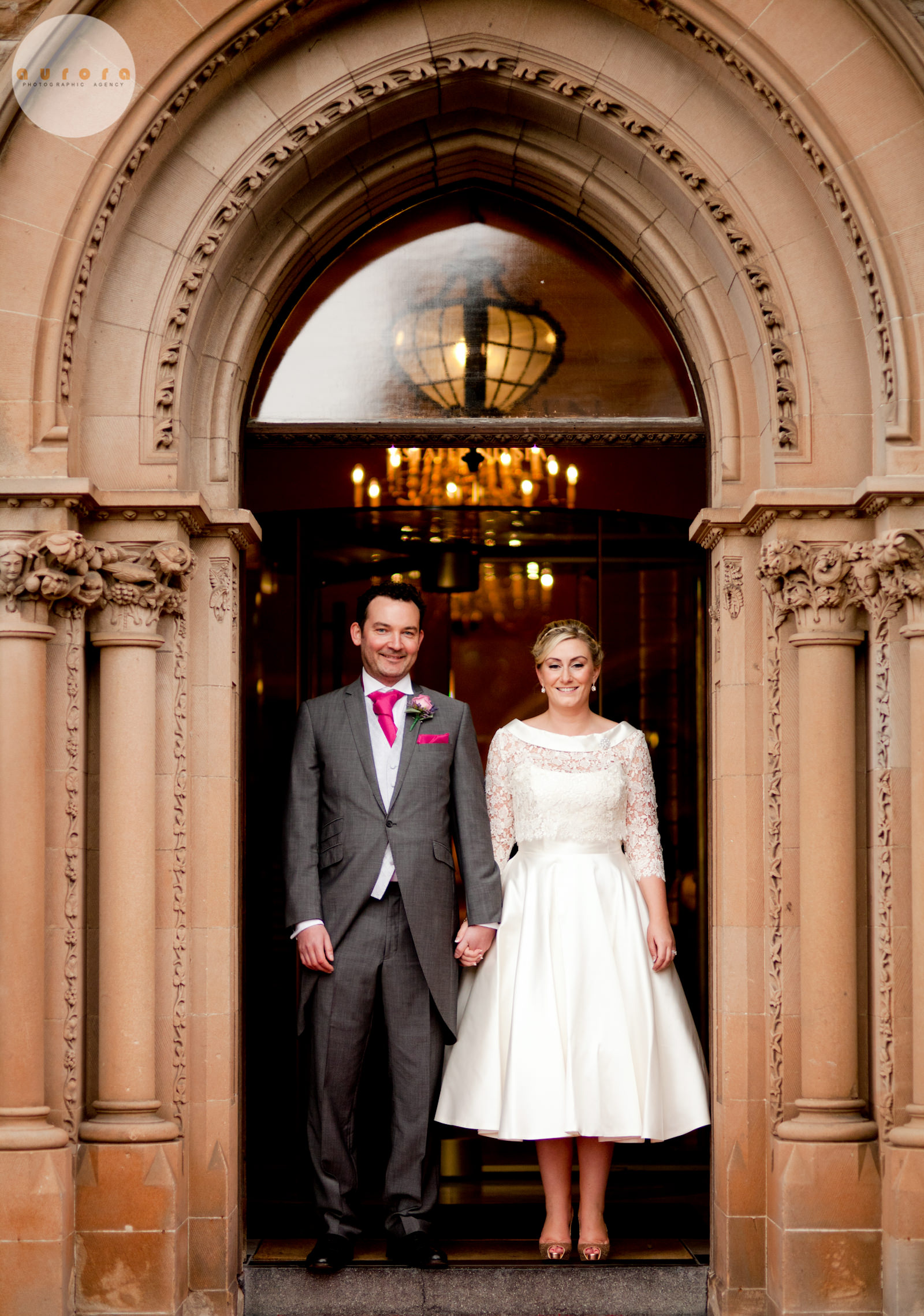 Danielle & Stephen's Wedding – Culloden Estate. Photography By Paul Moane / Aurora Photographic Agency