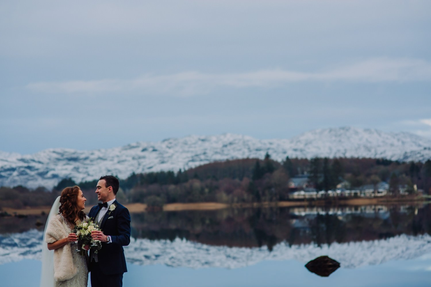 Real Life Wedding: Stacey and Ciaran's wedding Harvey's Point, Donegal Photography John Murphy