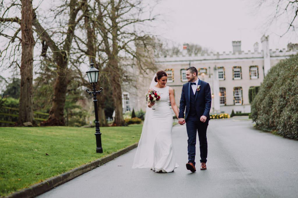 Jacqui & Sean Bellingham Castle Wedding Photography